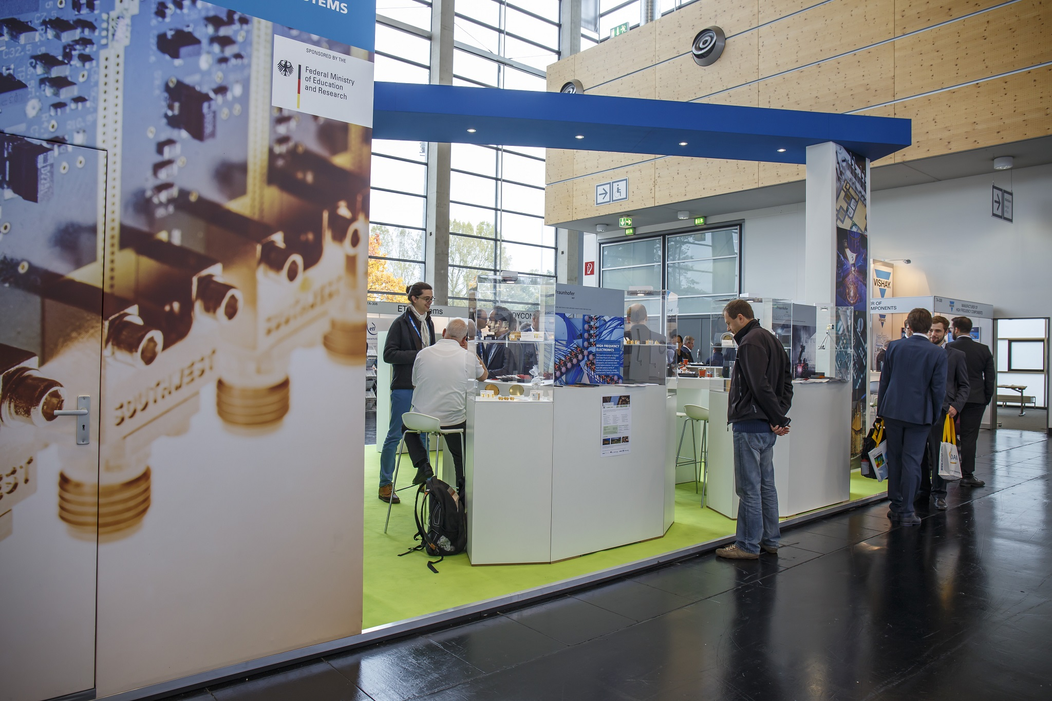 The Fraunhofer IAF at the EUMW 2017